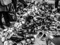 Thailand | , shoes left at the entrance of Wat Doi Suthep near Chiang Mai