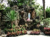 Thailand | , a Christian grotto in Ayutthaya